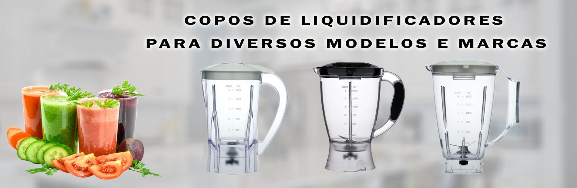 Copos de Liquidificadores