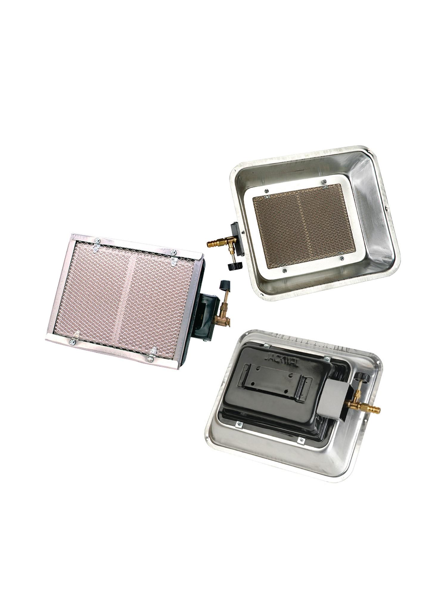 Queimador Infravermelho 2850 kcal/h sem instalação com Refletor - Jackwal