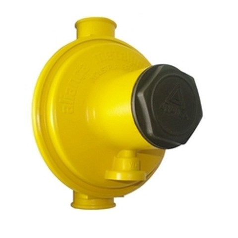 Regulador de gás Industrial Amarelo 12 kg/h Aliança