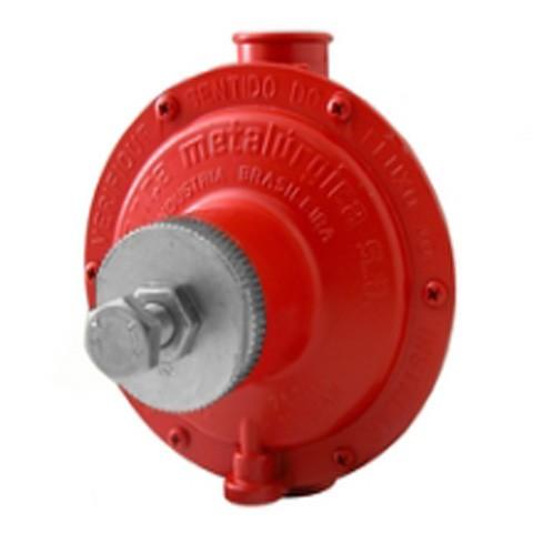 Regulador de gás Industrial Vermelho 15 kg/h - Aliança