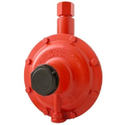 Regulador de gás Industrial Alta Pressão Vermelho 50 kg/h - Aliança
