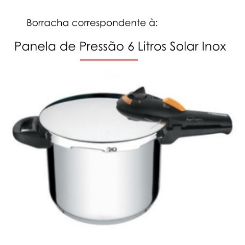 Borracha para Panela de Pressão Solar 6 litros - Tramontina