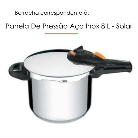 Borracha para Panela de Pressão Solar 8 litros Tramontina