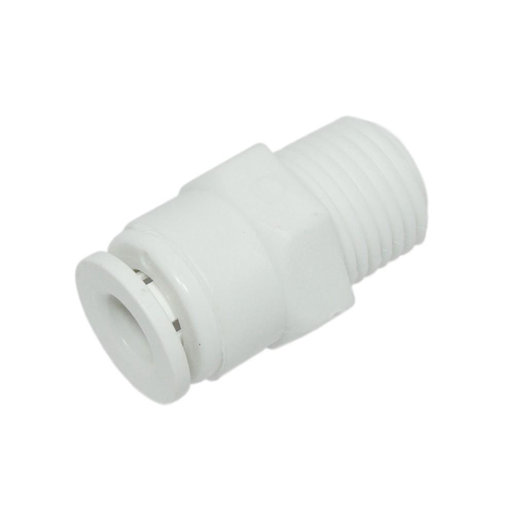 """Conector Rosca 1/4"""" para Filtro de Água Brastemp"""