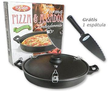 Forma Antiaderente para Pizza e Assados  - Fulgor