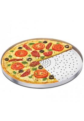 Forma para Pizza Com Furos n°25 - Alumínio ABC