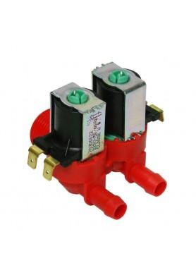 Válvula de Entrada Dupla 2,5/12 L/Min 220V para Máquina de Lavar Roupa LTC07 - Electrolux