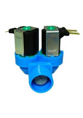 Válvula Entrada Dupla 220V Sem Retentor para Máquina de Lavar - Electrolux