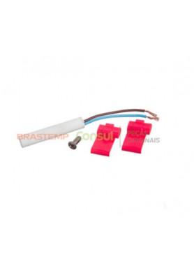 Kit Sensor Temperatura 2,7 K Geladeira - Brastemp e Consul