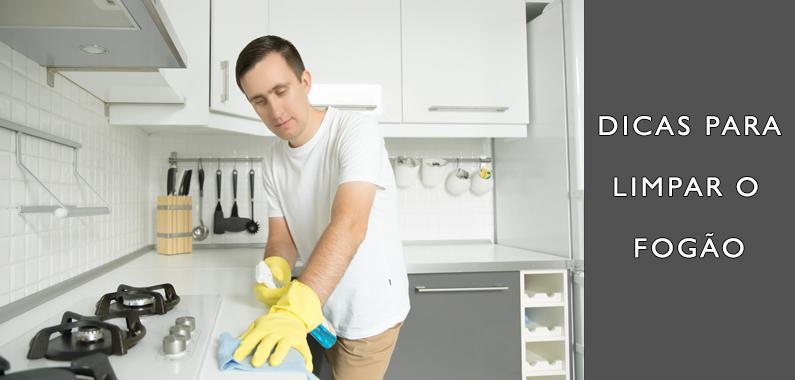 Dicas para Limpar o Fogão