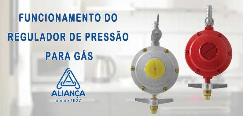 Funcionamento do Regulador de Pressão para Gás