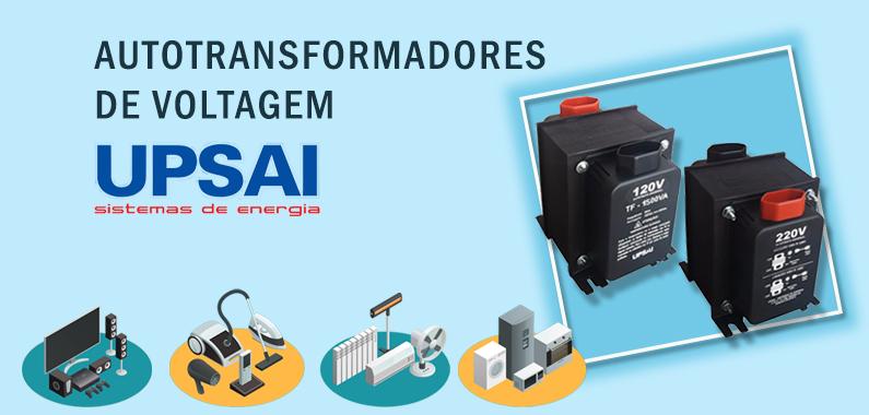 Autrotransformadores de Voltagem UPSAI